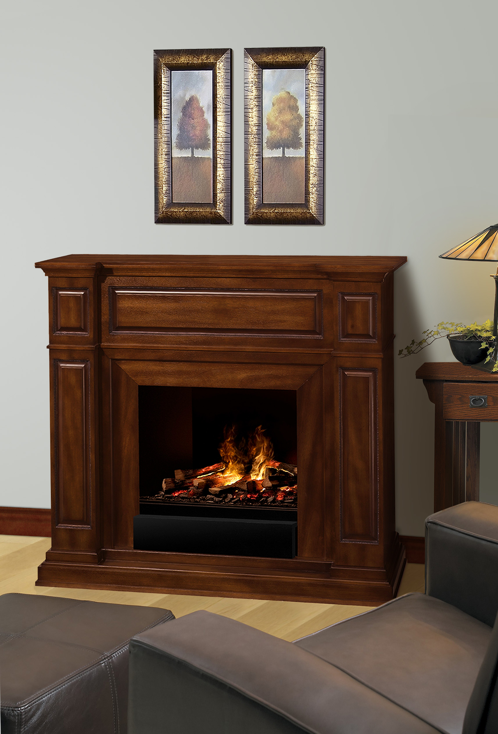 fireplace realistic heater stove standing log fire best products most itm electric flame choice free wood portable